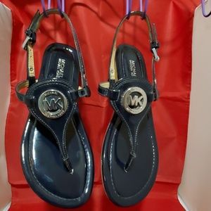 Michael Kors Gently Worn Black Sandals - 6.5M